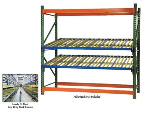 PALLET RACK GRAVITY FLOW LEVEL